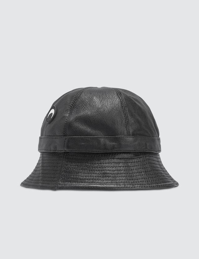 Marine Serre Moon Logo Bucket Hat