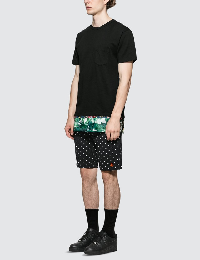 SOPHNET. Polka Dot Sweat Shorts
