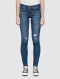 "Levi's ""Mix Tape"" 711 Asia Skinny Altered Jeans Picture"