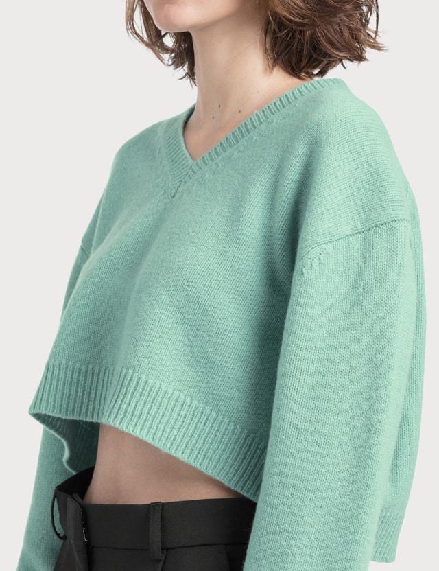 Acne Studios Kadienne Shetland Crop Knit