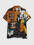 Wacko Maria Wacko Maria X Jean-michel Basquiat SS Hawaiian Shirt ( Type-4 ) Picutre