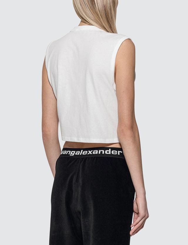 Alexander Wang.T High Twist Jersey Muscle T-shirt