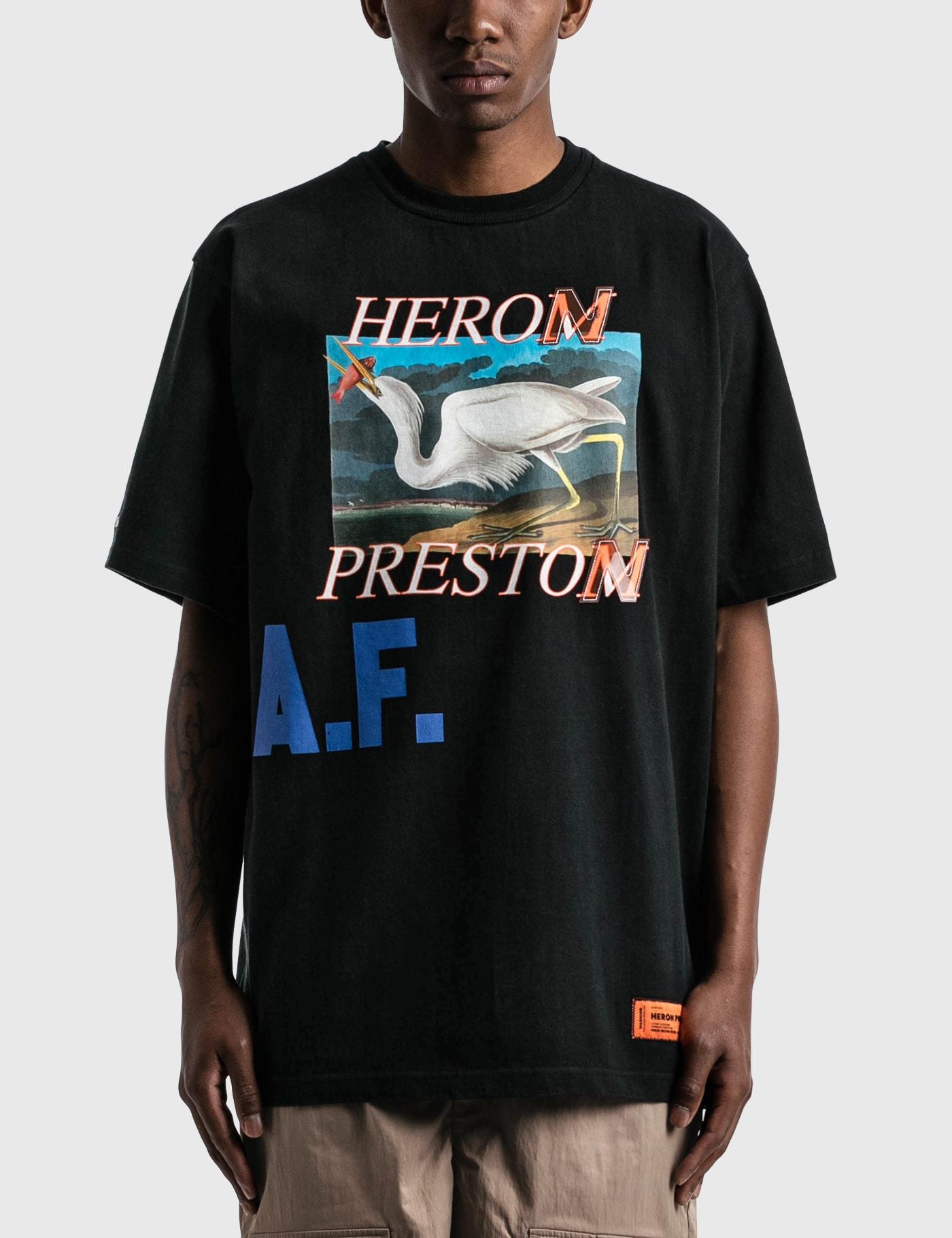 Heron Preston Cottons HERON A.F. T-SHIRT
