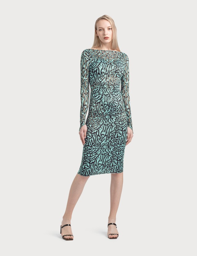 Maisie Wilen Long Sleeve Dress Blue Blue Women