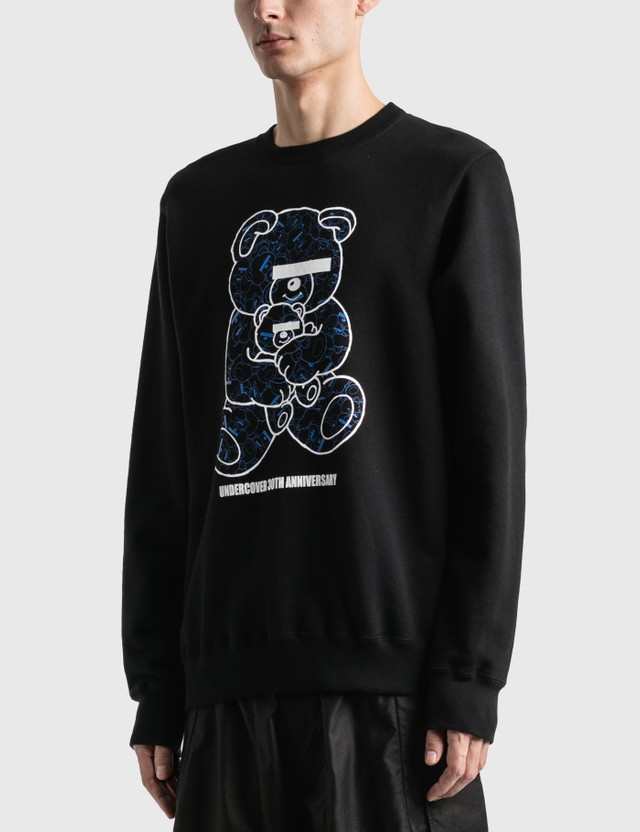 Undercover U Bear Bear 30th Anniversary Sweatshirt Black Unisex