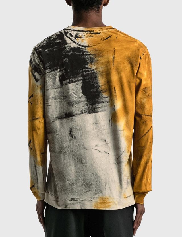 1017 ALYX 9SM Address Logo Dyed Long Sleeve T-shirt Tab/orange Men