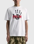 Palm Angels Hand Printed Classic T-shirt Picture
