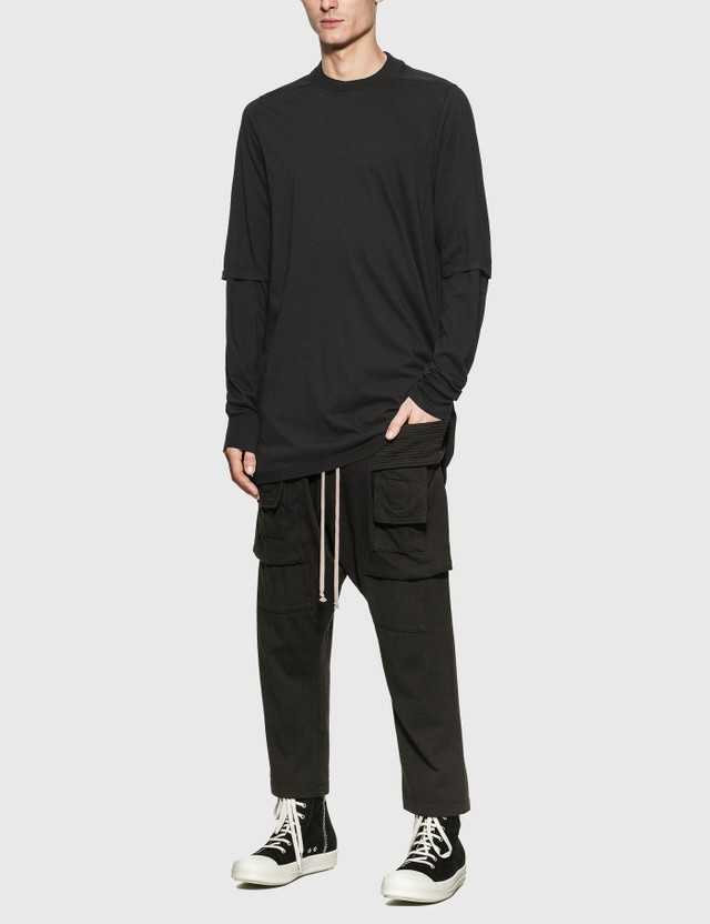 Rick Owens Drkshdw Hustler Long Sleeve T-Shirt 09 Men