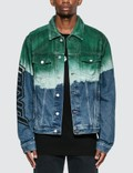 Off-White Pivot Degrade Slim Denim Jacket Picture