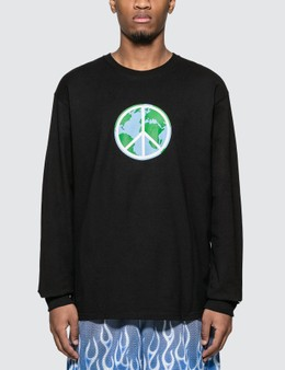 Stussy World Peace Long Sleeve T-shirt