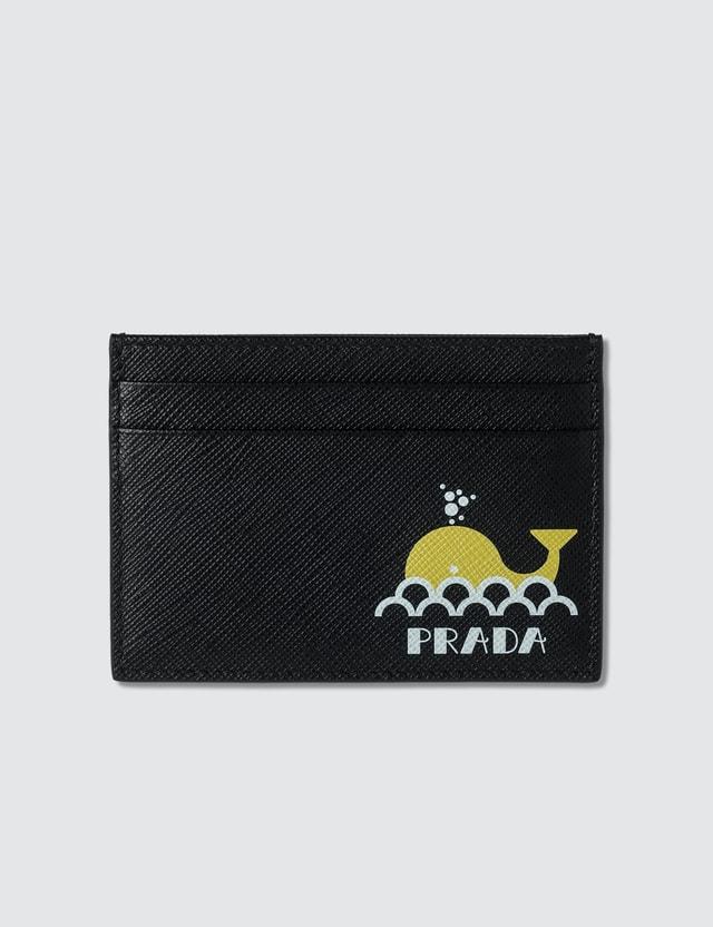 Prada Card Holder with Whale