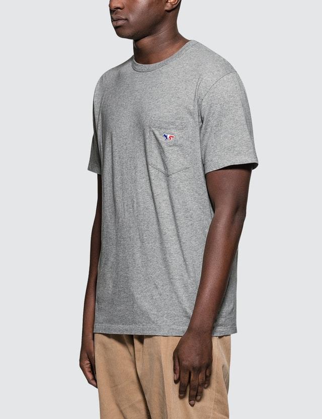 Maison Kitsune Tricolor Fox Patch S/S T-Shirt