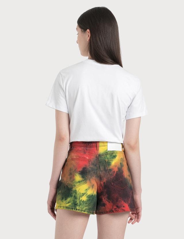 MSGM Paint Blushed Logo T-Shirt