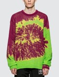 Misbhv Tie Dye Knitted Sweater Picutre
