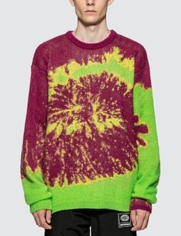 Misbhv Tie Dye Knitted Sweater