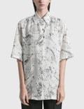 Acne Studios Saffi Printed Linen Shirt Picture