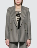 Acne Studios Double-breasted Pinstripe Jacket Picture
