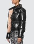 Moncler Nylon Lacque Down Jacket