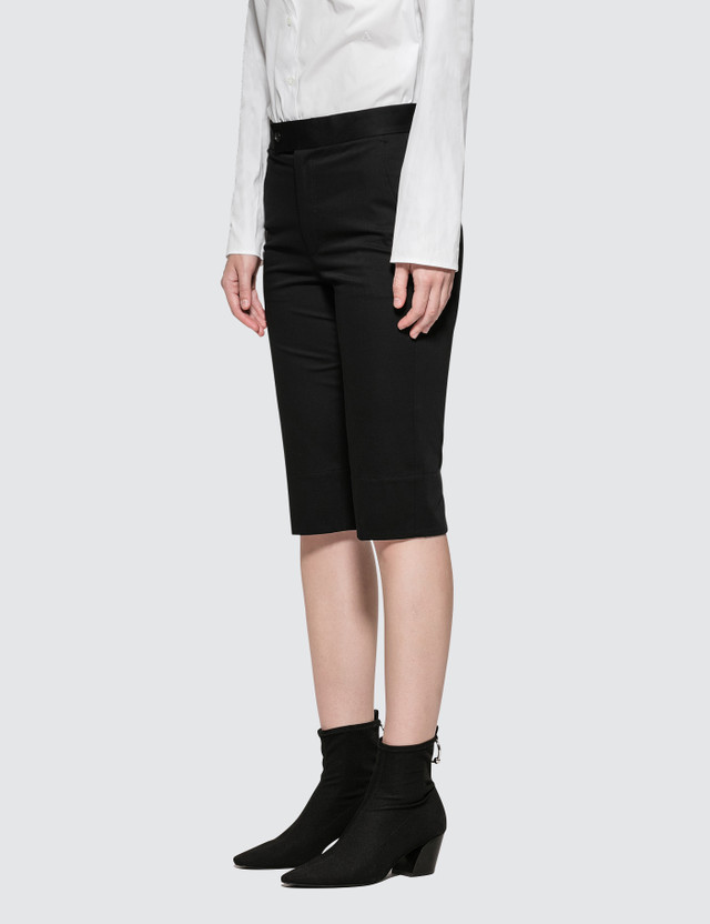 Helmut Lang Silm Cotton Shorts