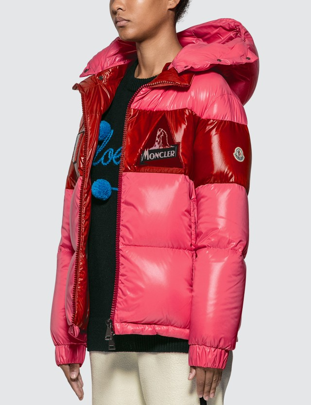 Moncler Color Block Puffer Down Jacket