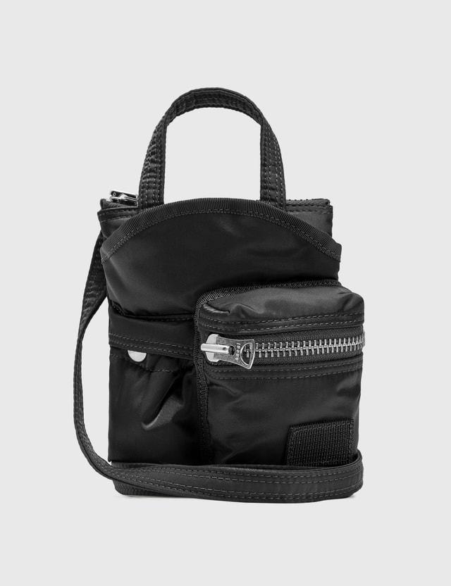 Sacai Porter Pocket Bag Small Black Men