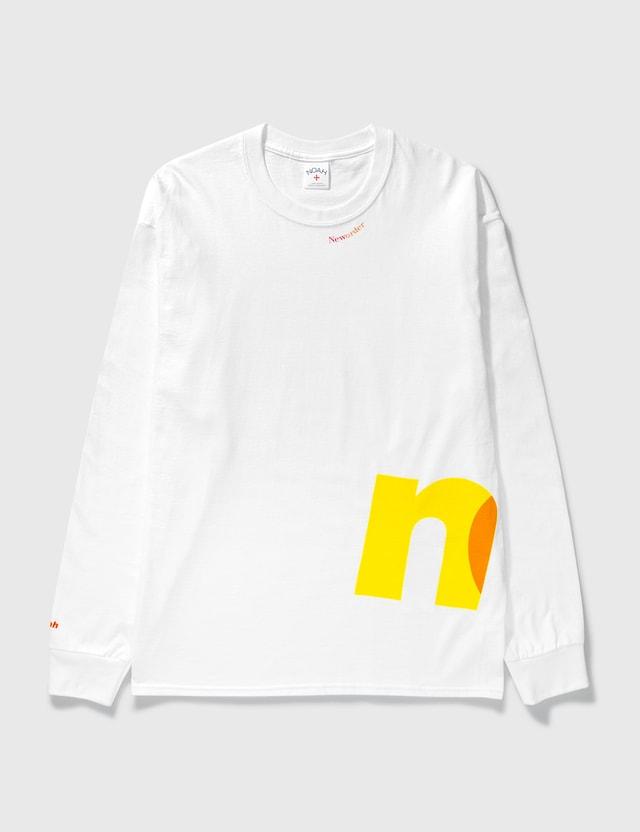 Noah Noah x New Order Long Sleeve T-shirt White Men
