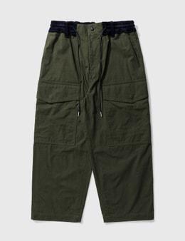 Sacai Cotton Oxford Pants