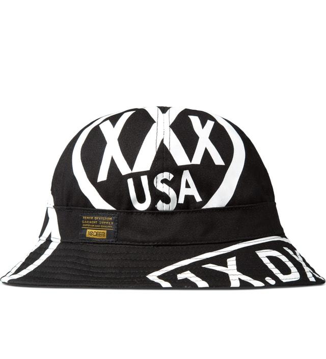 10.Deep - Black Full Clip Fishman Bucket Hat  2206e50e0710