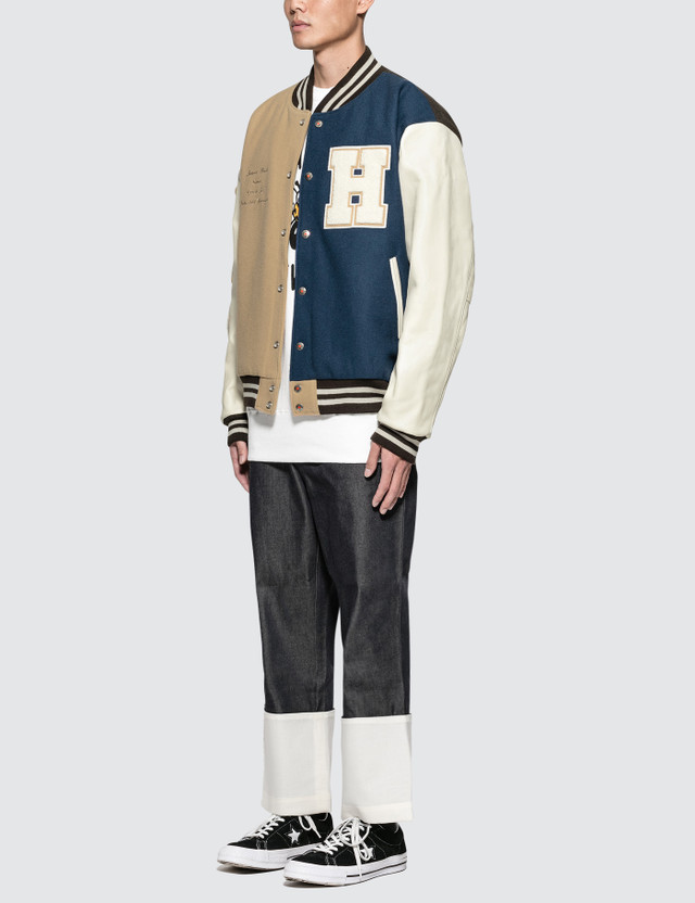 Human Made HM7 Crazy Varsity Jacket
