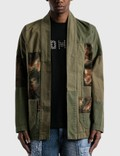 FDMTL Rinse Patchwork Haori Jacket Picture