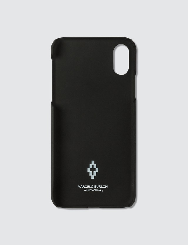 Marcelo Burlon Glitch Wings iPhone X Case