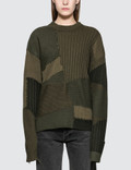 Helmut Lang Military Grunge Oversized Crew Picutre