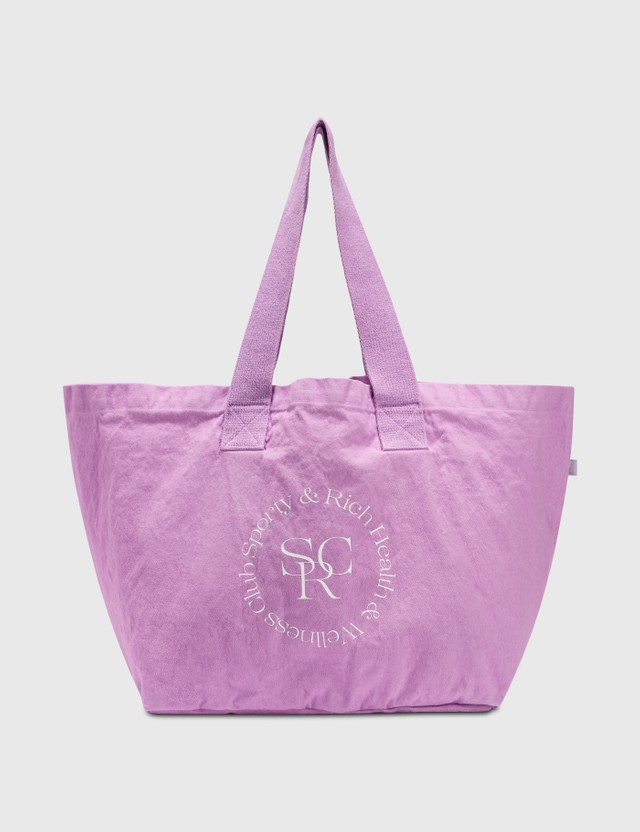 Sporty & Rich SRWC Logo Tote Bag