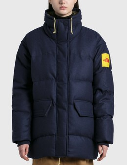 The North Face Brown Label Larkspur Wool Down Jacket