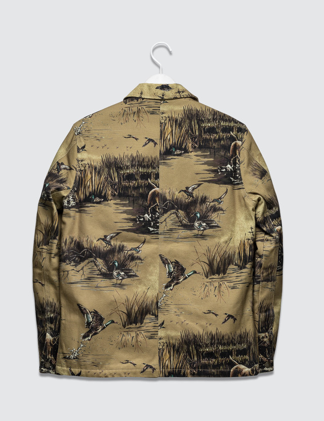 Supreme Dogs and Ducks Chore Jacket Khaki/beige Archives