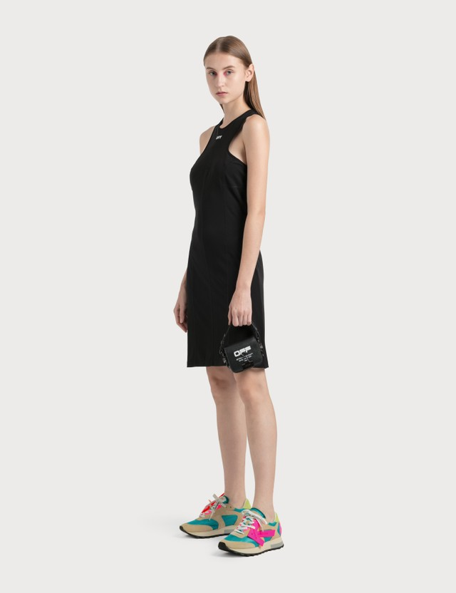 Off-White Rowing Pencil Dress