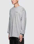 GEO Layers L/S T-Shirt Grey Men