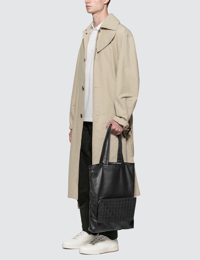 Bottega Veneta Nylon Trench Coat