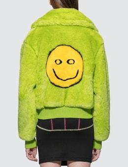Kirin Smile Jac Fur Collar Bomber Jacket