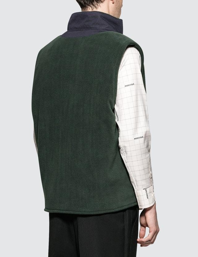 Maison Kitsune Fleece Waistcoat