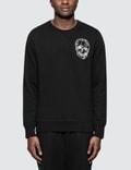 Alexander McQueen Skull Logo Embroidery Sweatshirts Picture