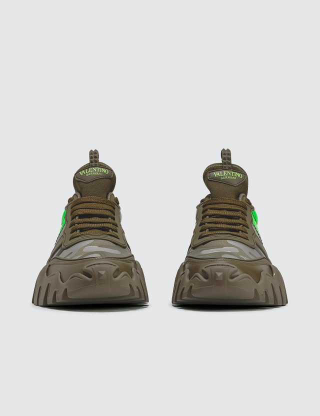 Valentino Valentino Garavani Camouflage Rockrunner Plus Sneaker