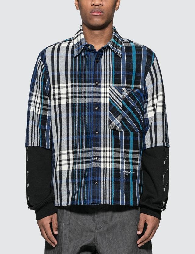 Off-White Check Jersey Shirt