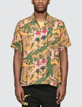 Brain Dead Hawaiian Shirt With Women Print Picture