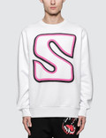 SSS World Corp Jersey Sweatshirt White Sc3 Men