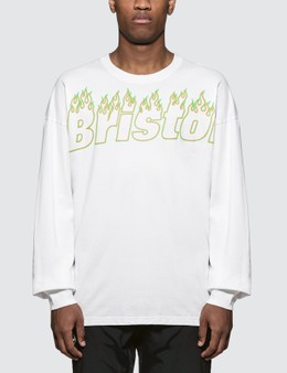 F.C. Real Bristol Fire Bristol L/S Big T-Shirt