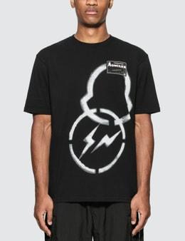 Moncler Genius Moncler Genius x Fragment Design Spray Painted Logo T-Shirt