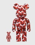 Medicom Toy Be@rbrick Keith Haring #6 100% & 400% Set Picture