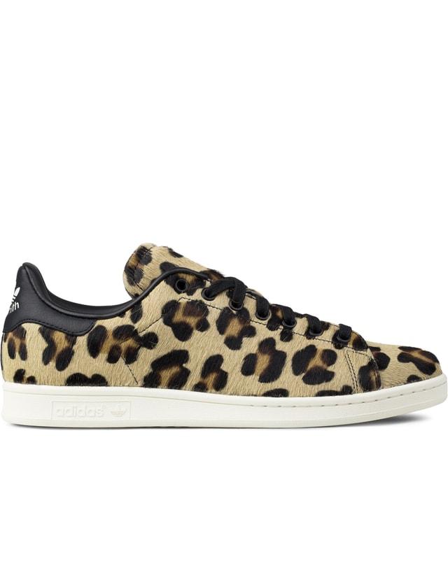 Adidas Originals Stan Smith Pony Hair Leopard
