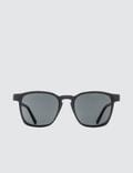 Super By Retrosuperfuture Unico Black Sunglasses Picture